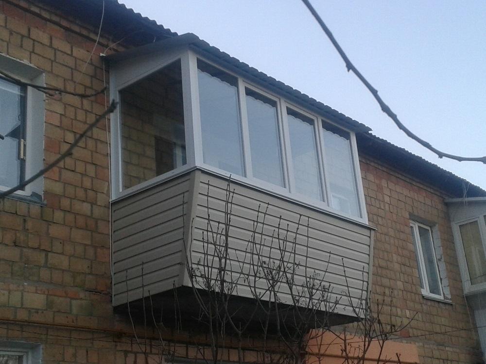 Остекление балконов и лоджий в киеве и киевской области.